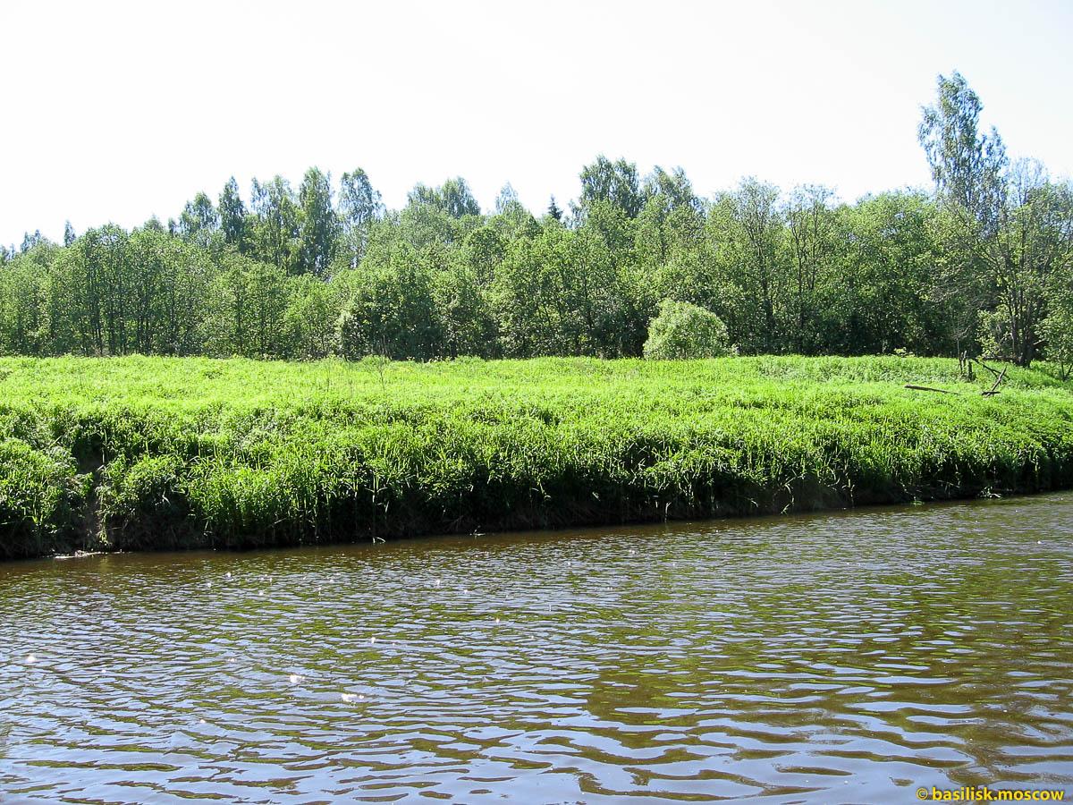 Река Дубна. Туристический сход. Июнь 2007.
