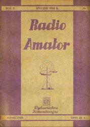 Журнал Radioamator №1-№12 1953