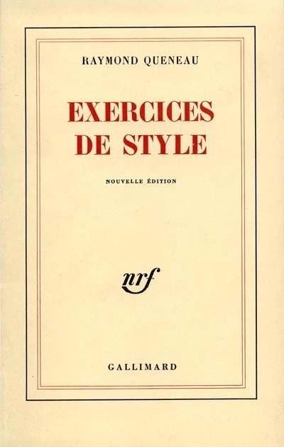 Книга Exercices de Style