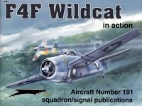 Книга Aircraft Number 191: F4F Wildcat in action.