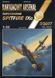 Журнал Журнал Spitfire IXc-Halinski Kartonowy Arsenal (3`2007)