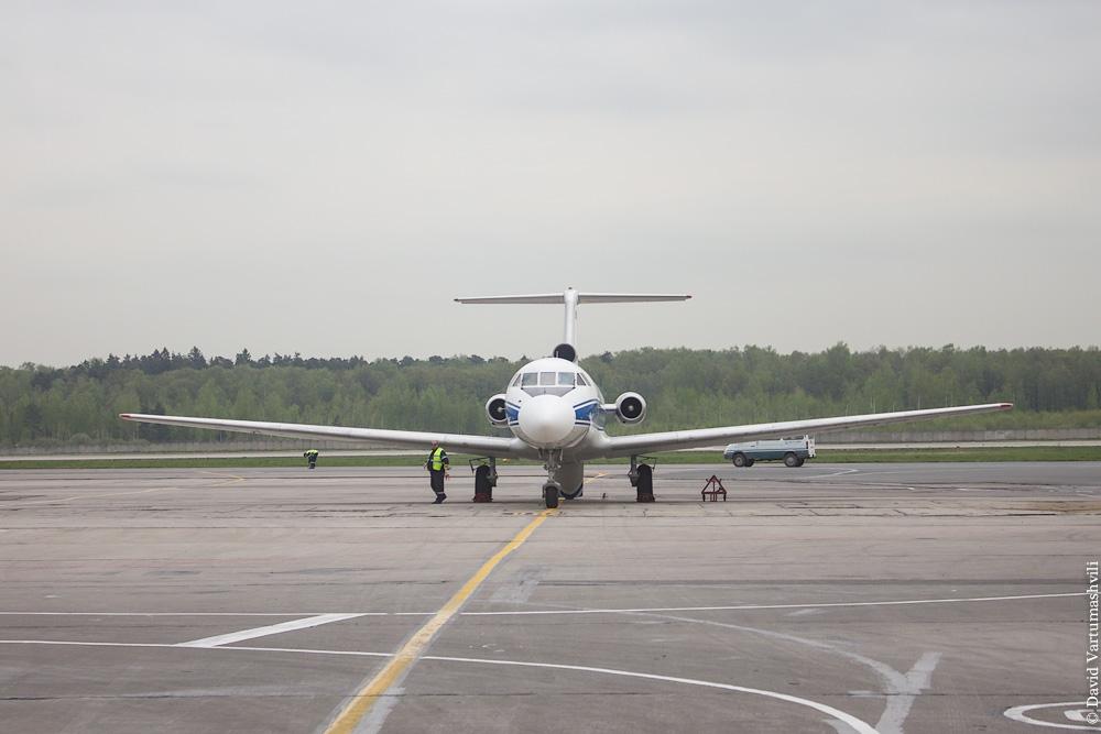 Перелет из Вологды в Москву