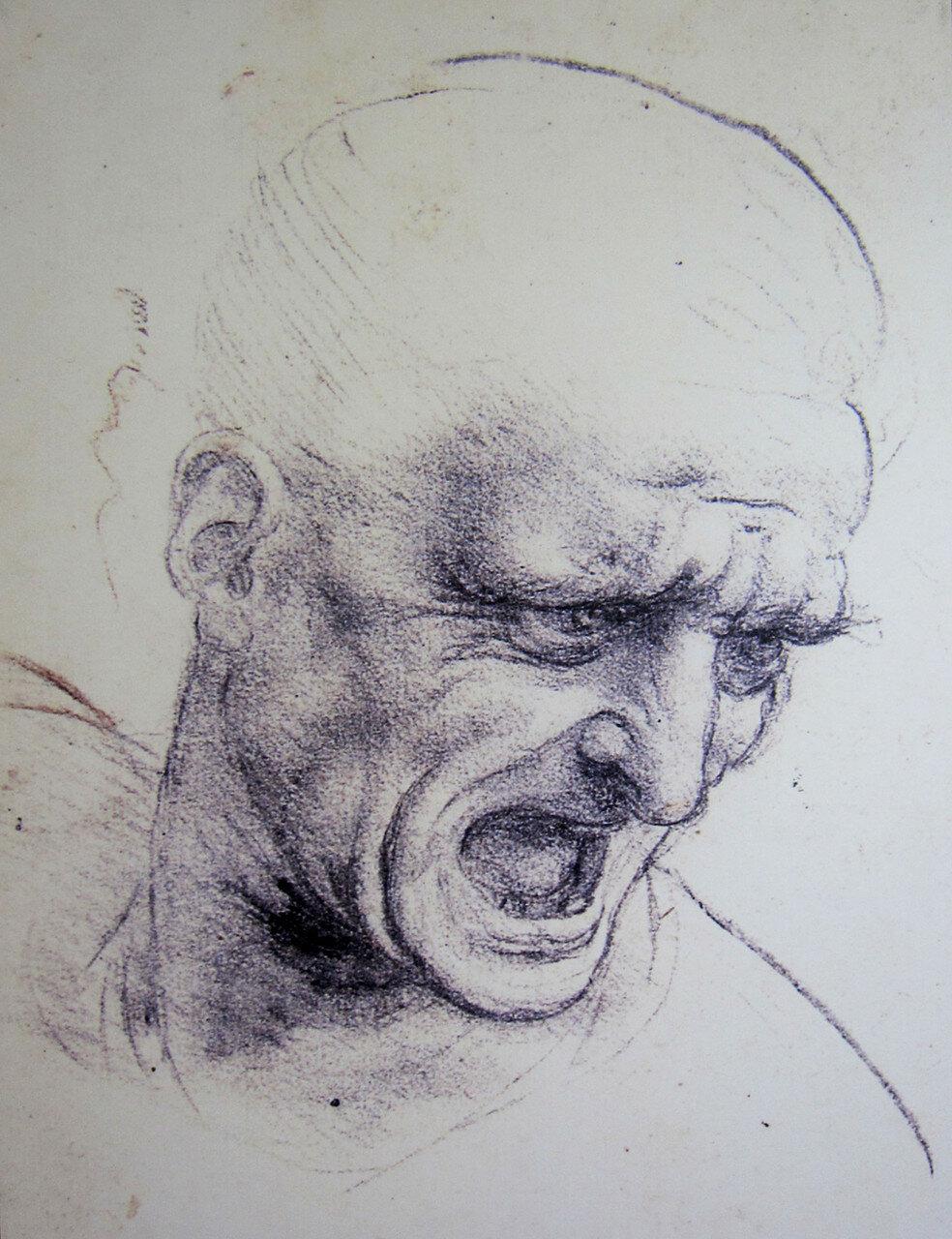 152_Битва при Ангиари, кричащий человек.jpg