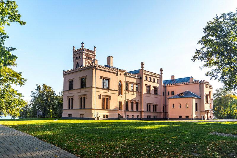 Латвия. Алуксне. Новый замок