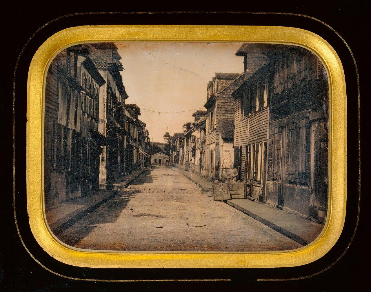 1848. Сен-Пьер. Мартиника