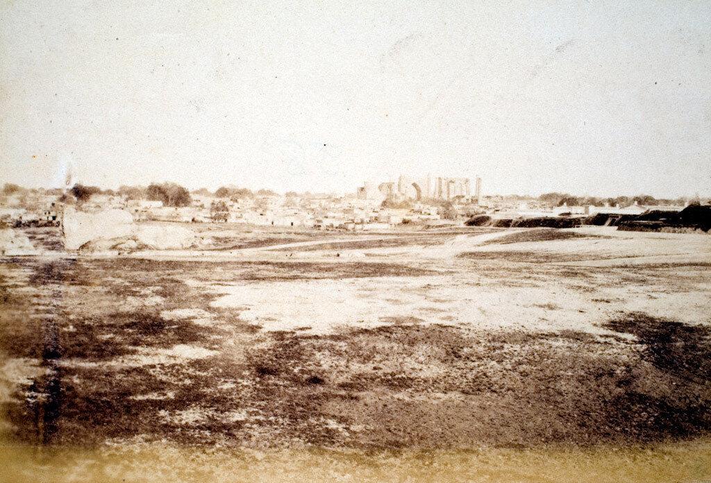 84. Самарканд. Самаркандская область.  Вид с Цитадели