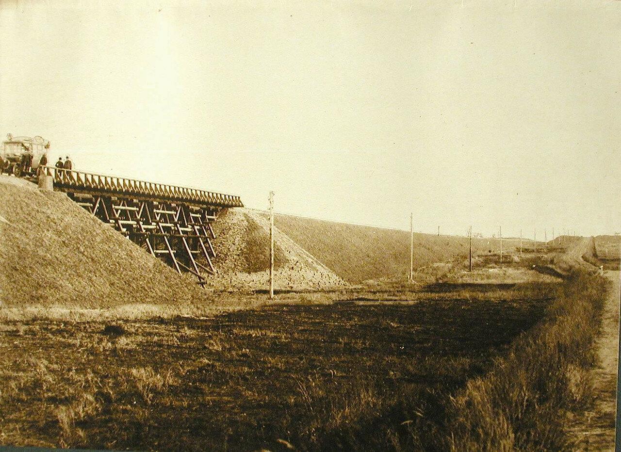 04. Вид моста через Мальцеву Падь (на 467-й версте). Амурская обл. 1911-1914