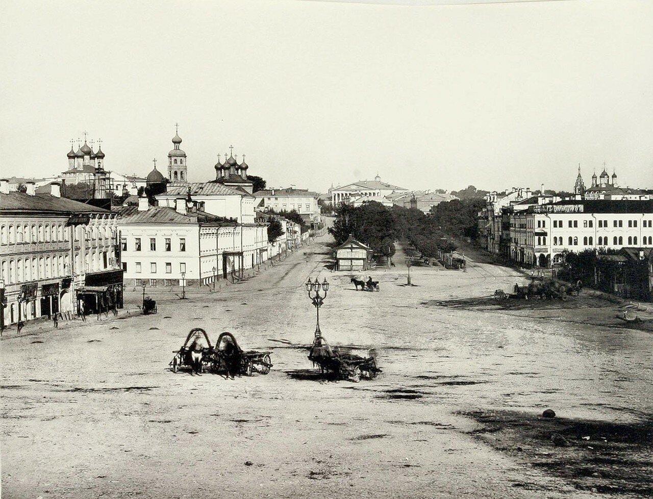 351. Вид прилегающей к Петровскому бульвару местности