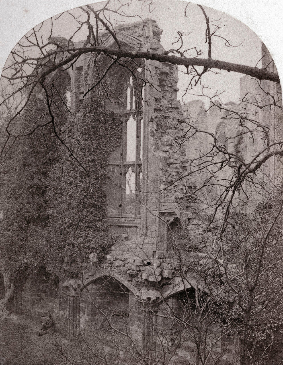 Замок Кенилуэрт, Банкетный зал. Великобритания, 1864