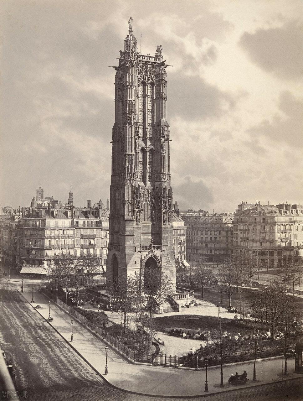 1867. Башня Сент-Жак