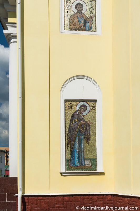 Мозаичная икона Пресвятой Богородицы. Собор великомученицы Екатерины.