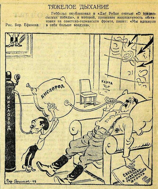«Красная звезда», 25 июля 1943 года, пропаганда Геббельса, идеология фашизма