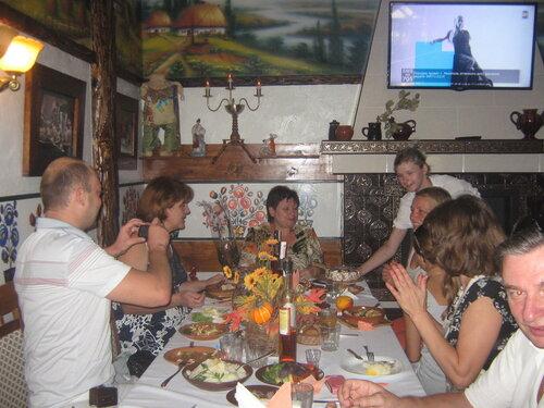 Именинники и гости Пивна  Хата