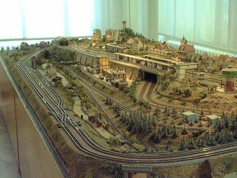 Железнодорожный моделирование