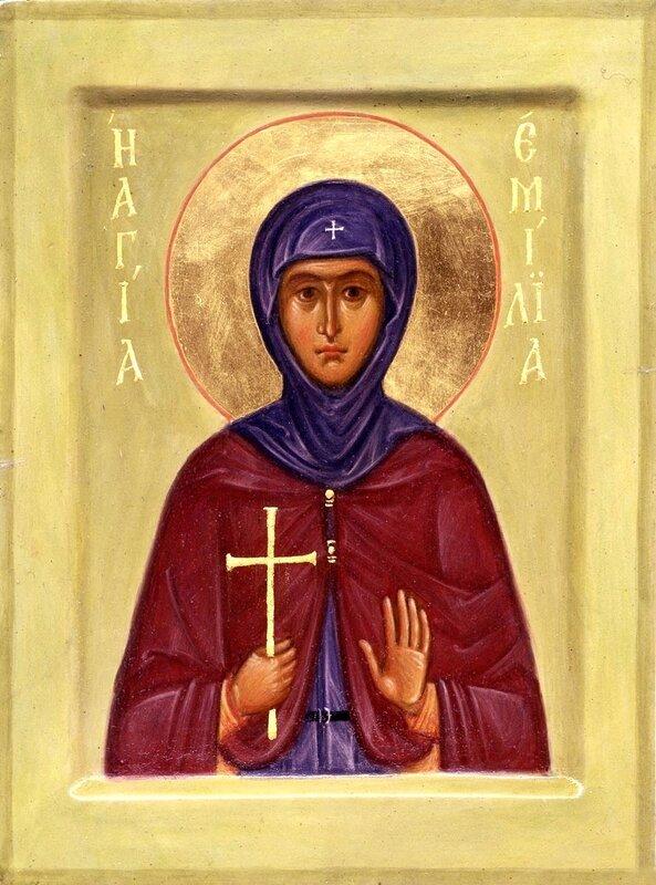 Святая Преподобная Емилия Кесарийская, мать Святителя Василия Великого.