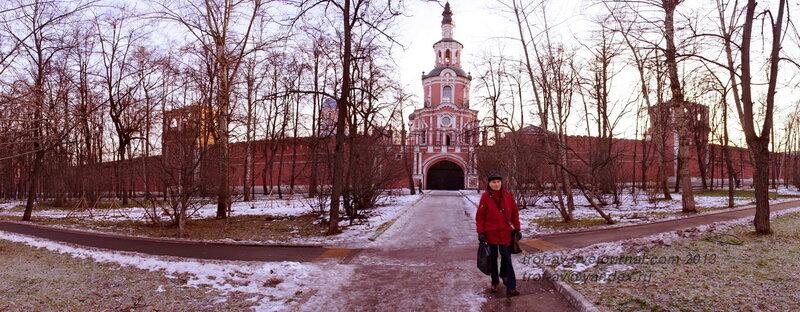 Северная стена Донского монастыря, Москва