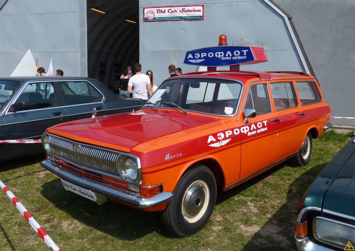 Выставка ретро-автомобилей «OldCarFest—2»