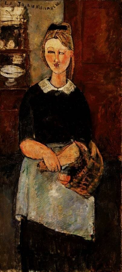 The Pretty Housewife - 1915 - The Barnes Foundation - Painting - oil on canvas.jpeg