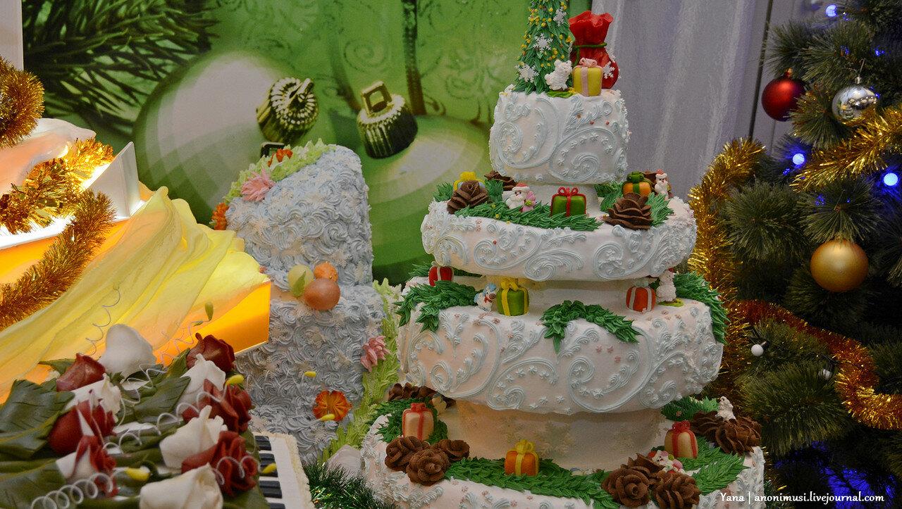 Рождественский пирог в картинной галерее Г.Х.Ващенко. Гомель