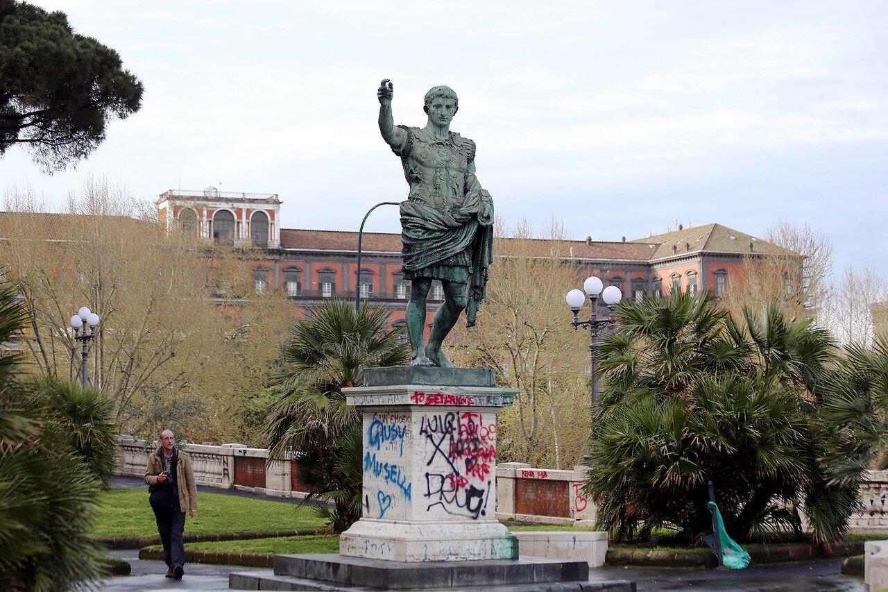 Naples. Terrace of Santa Lucia (Terrazza di Santa Lucia)