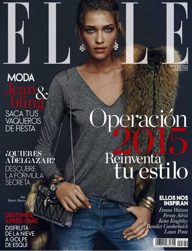 Ана Беатрис Баррос (Ana Beatriz Barros) в журнале Elle Spain