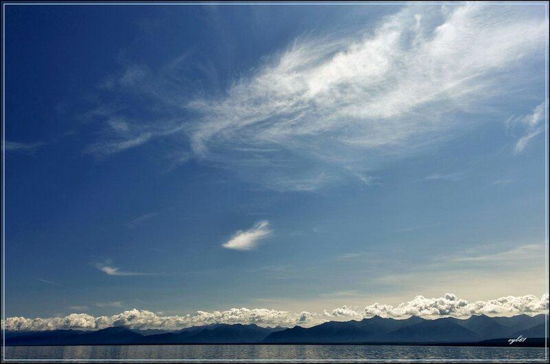 Бездонное небо Байкала