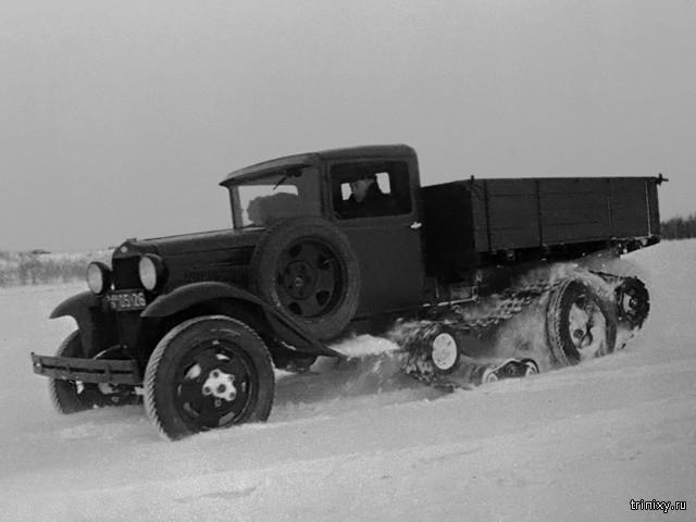 Опытный гусеничный автомобиль ГАЗ-65 СССР