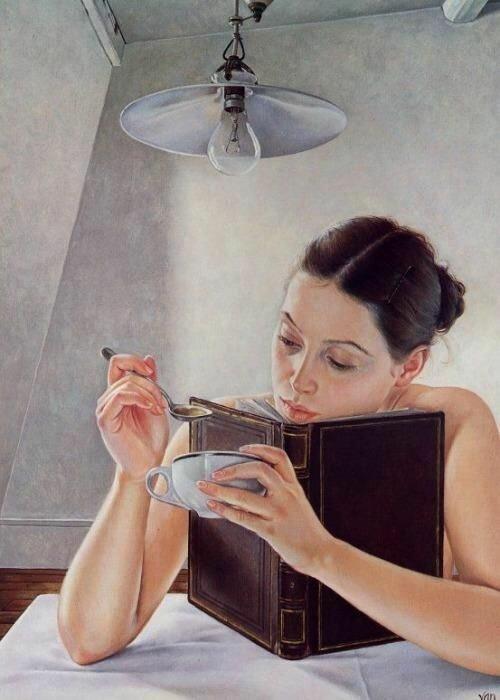 Художница - Francine Van Hove