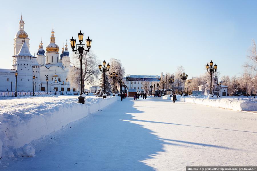 С Рождеством! Из Сибири..