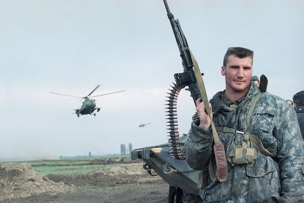 Chechnya Breakaway Russian Troops