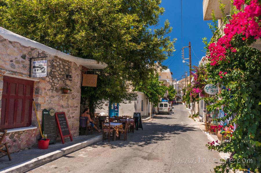 Улочки Миртос | Myrtos streets