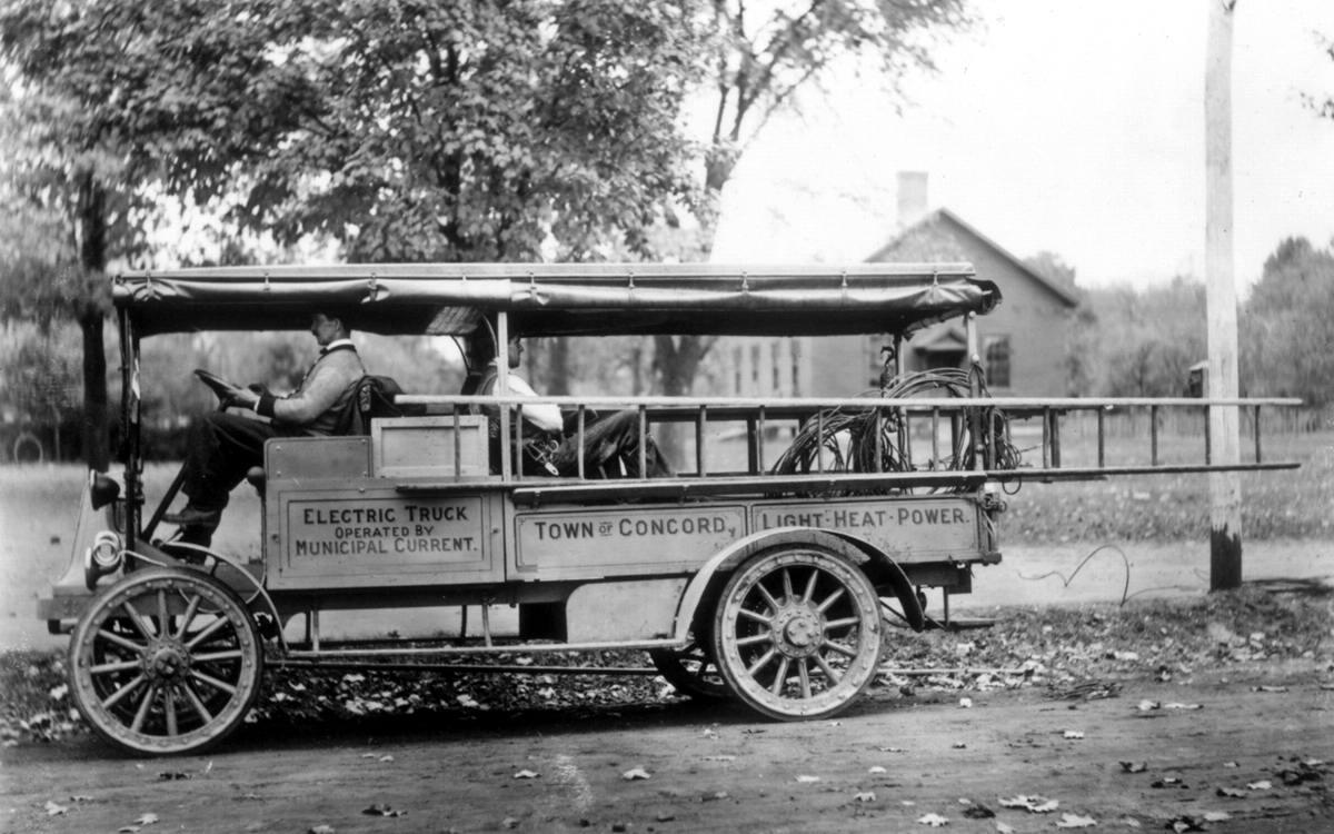 Специализированные транспортные средства начала 20-го века на снимках американских фотографов (9)