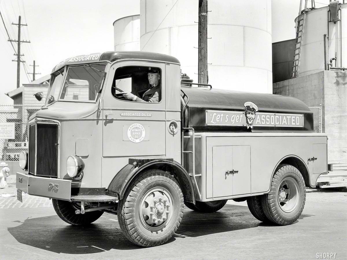 Специализированные транспортные средства начала 20-го века на снимках американских фотографов (61)