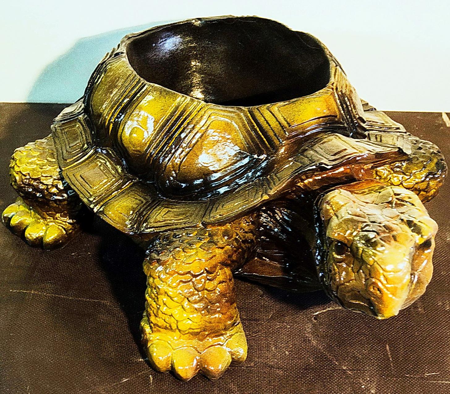 Форма Черепаха-кашпо