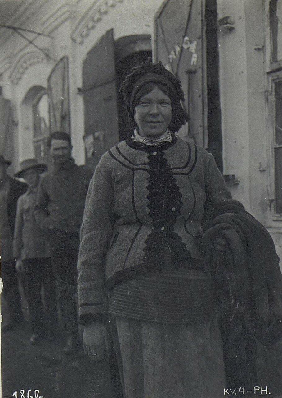Женщина из Владимира-Волынского