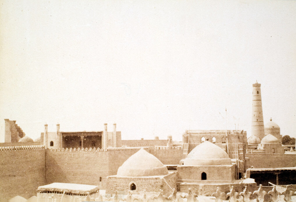 77. Хива. Дворец Таш-Хаули