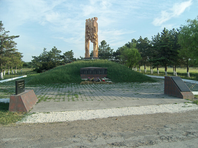 ВОВ в селе Курортное (Фридента́ль, Хан-Токъуз)