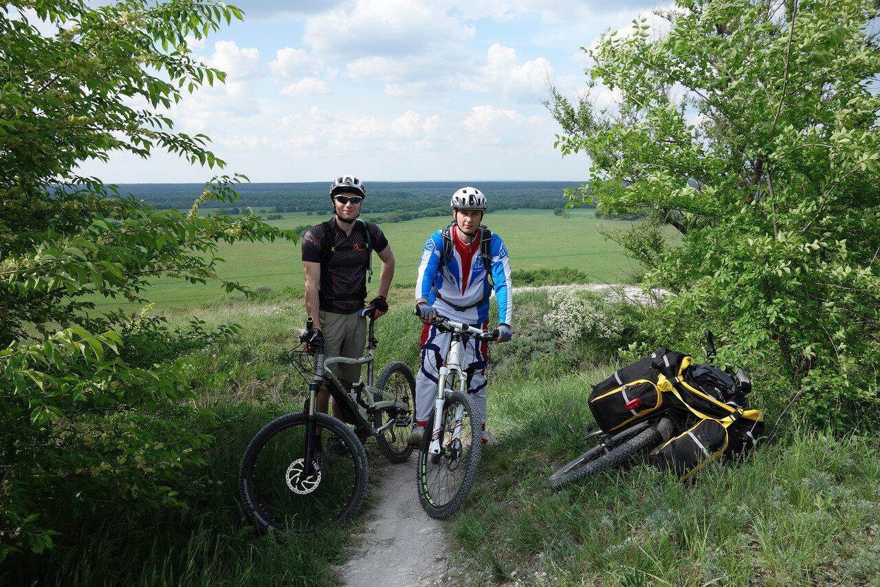 велобайкеры из Лисок
