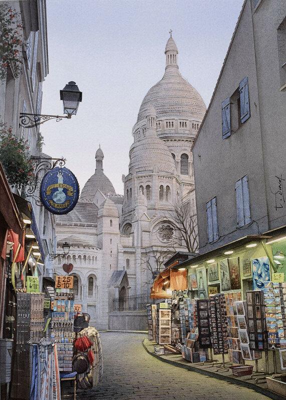 Les lumières de Montmartre