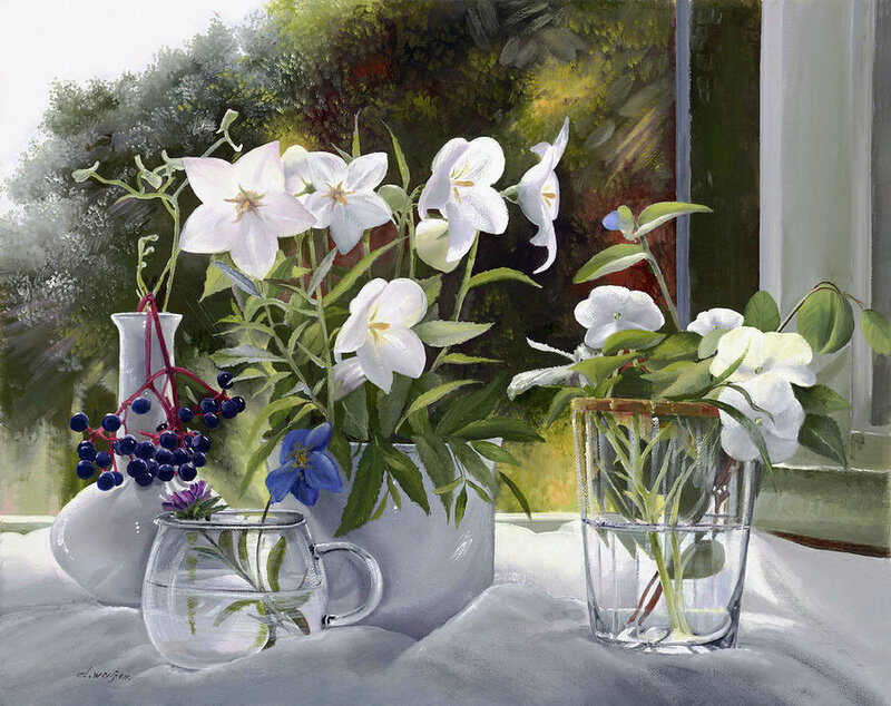 И уютно растут цветы повсюду danka weitzen