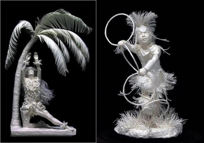 Удивительные скульптуры из бумажной массы 0 115b70 5a87373c orig