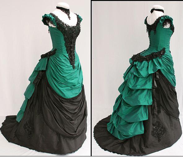 Как сшить платье с турнюром 427