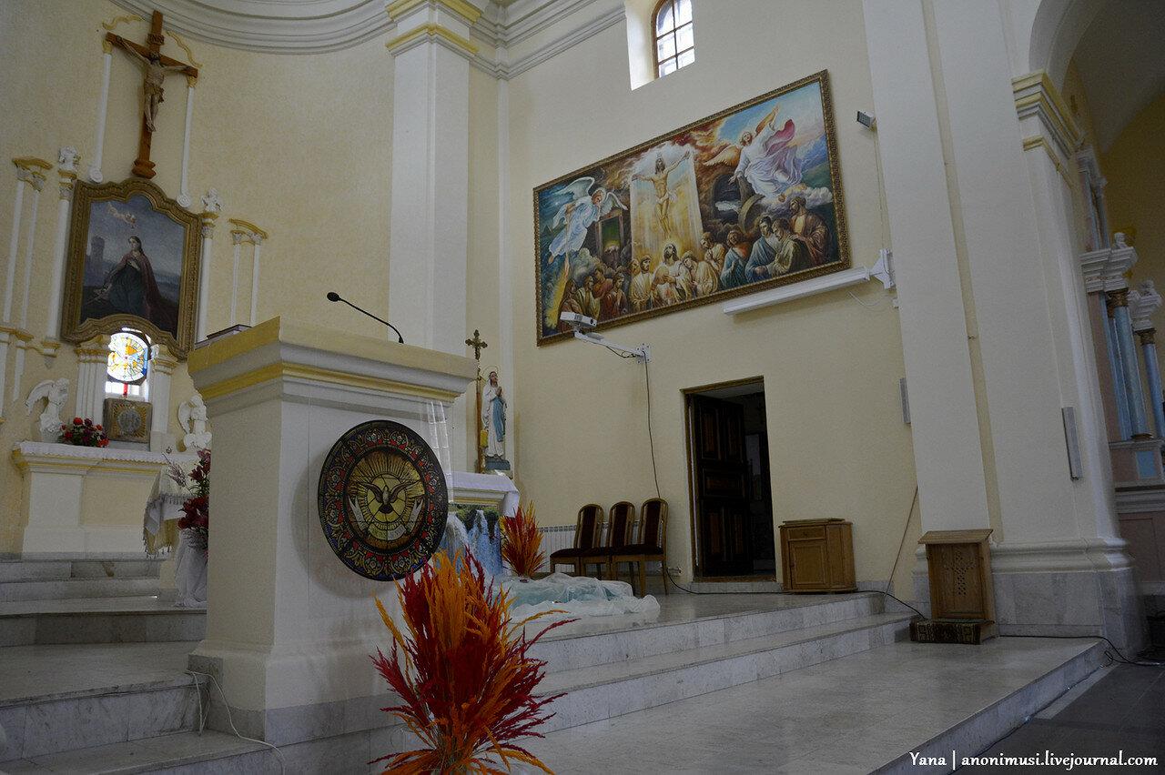 Костел Св.Варвары в Витебске