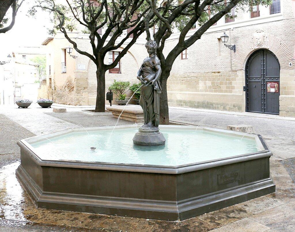 Fuente de La Moreneta, Huesca