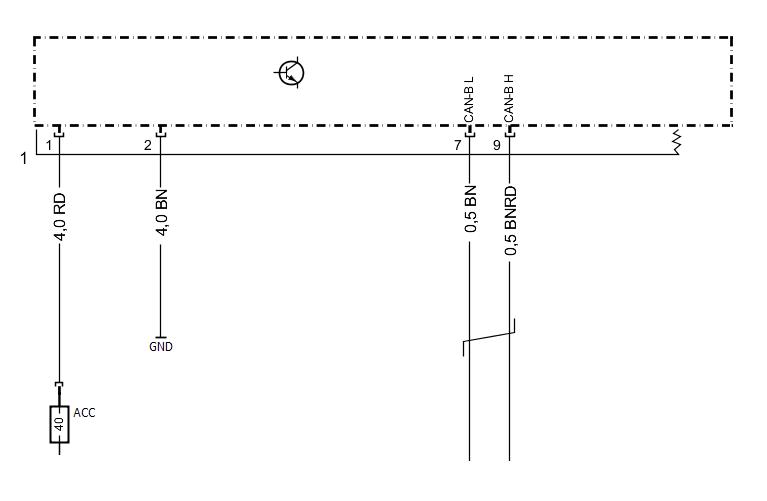 Схема ЭБУ сидений Mercedes S