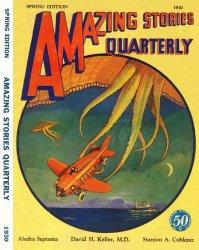 Журнал Amazing Stories Quarterly (Spring, 1930)