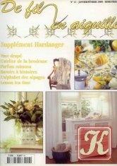 Журнал De fil en aiguille №11 (январь-февраль) 2000