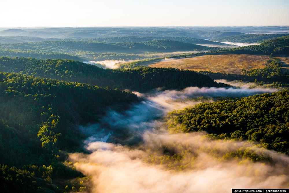 Полет над Новосибирской областью. Бердские скалы.