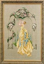Журнал Набор для вышивки крестом Mirabilia Designs 003 The Rose of Sharon