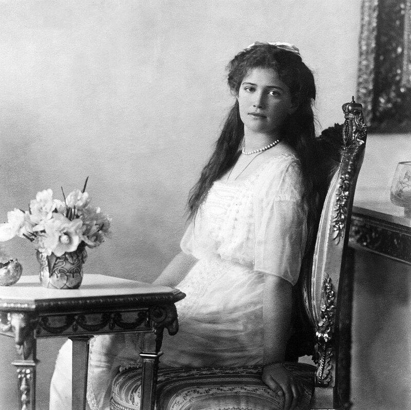Grand Duchess Maria Nikolaevna of Russia in 1914.